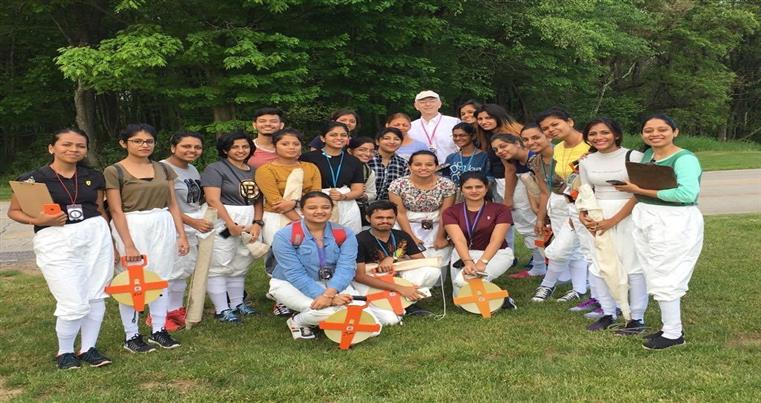 Field Visit during RUIA-IUP, USA Summer Program 2017